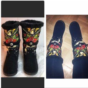 Women's ED HARDY boots